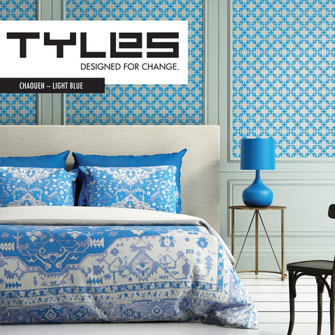 Tyles Chaouen in Light Blue