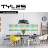 NEW! TYLES Convo in Green and Golden Yellow