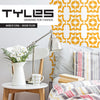 Tyles Marbled Floral in Golden Yellow - Tyles  - 1
