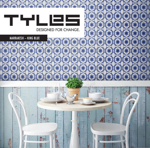 Tyles Marrakesh in King Blue