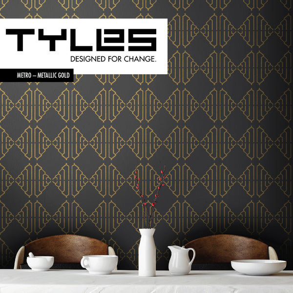 NEW! TYLES Metro in Metallic Gold