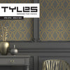 NEW! Tyles Open Lattice in Metallic Gold - Tyles  - 1