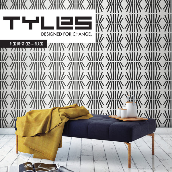 NEW! Tyles Pick Up Sticks in Black - Tyles  - 1