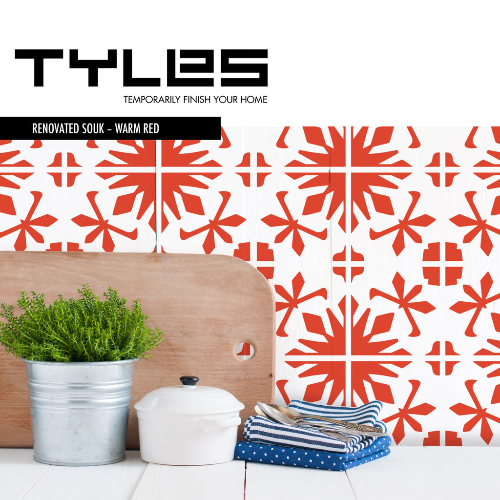 Tyles Renovated Souk in Red (One Color) - Tyles  - 1