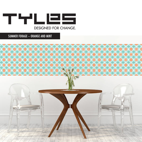 NEW! Tyles Summer Forage in Orange and Mint - Tyles  - 1