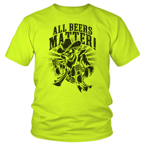 All Beers Matter - Safety Yellow