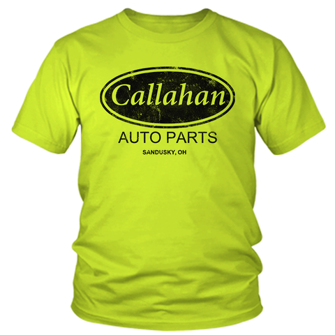 Callahan Auto Parts - Safety Yellow