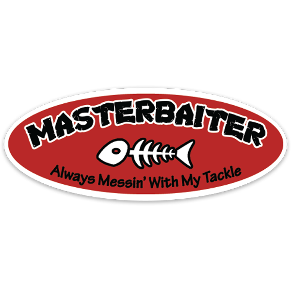 Masterbaiter Decal