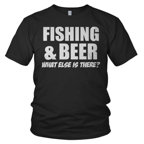 fishing-beer-black-t-shirt-old