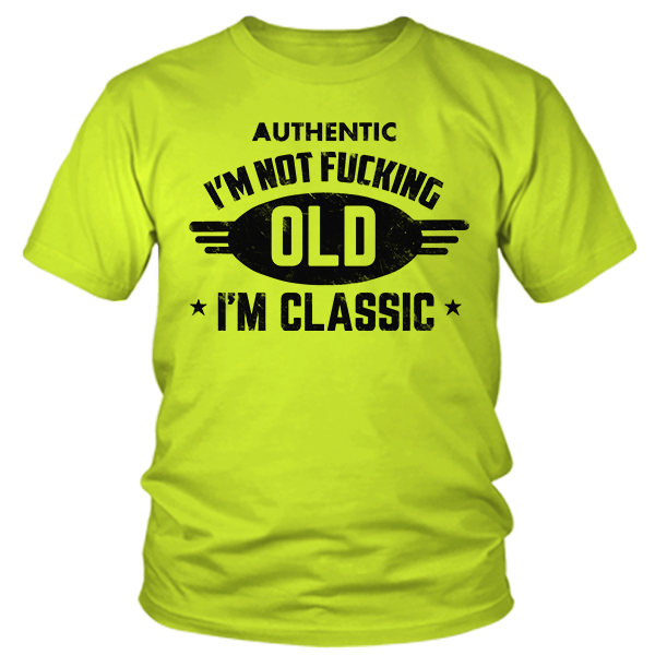 I'm Classic - Safety Yellow
