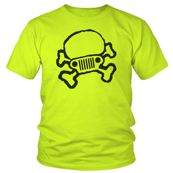 Jeep Cross Bones - Safety Yellow