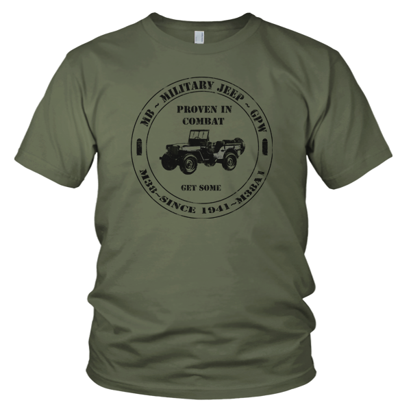 military-jeep-tee-old