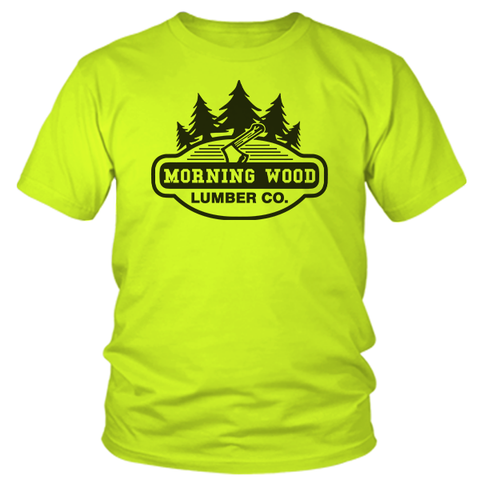 Morning Wood  - Safety Yellow