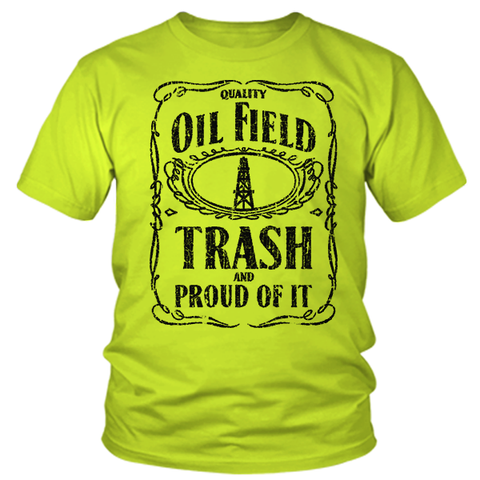 Oilfield Trash - Safety Yellow