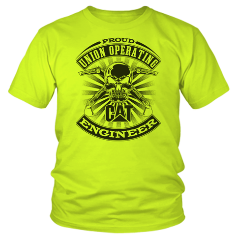 Operating Engineer - Cat  - Safety Yellow