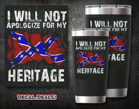 Do Not Apologize Decal