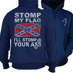 Stomp My Flag - Confederate