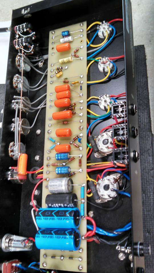 Wangs #1987 (Gen 2) with EHX tubes and updated components