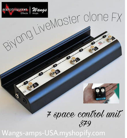 LiveMaster 7 space controller