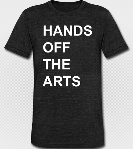 HANDS OFF THE ARTS 50/25/25