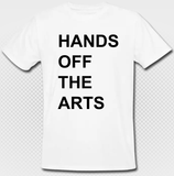 HANDS OFF THE ARTS