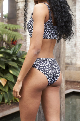 Kiara Eco Bottoms - Black Leopard-Luna Pole Wear-Pole Junkie