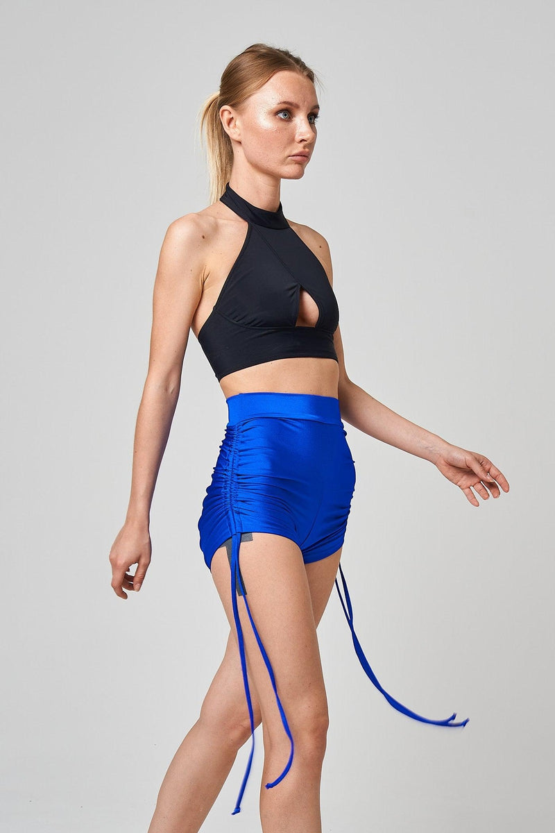 Shark Polewear Ula Shorts - Royal Blue-Shark Polewear-Pole Junkie