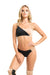 Poledancerka Movement Reversible Bikini-Style Short - Black/Nude 01-Poledancerka-Pole Junkie