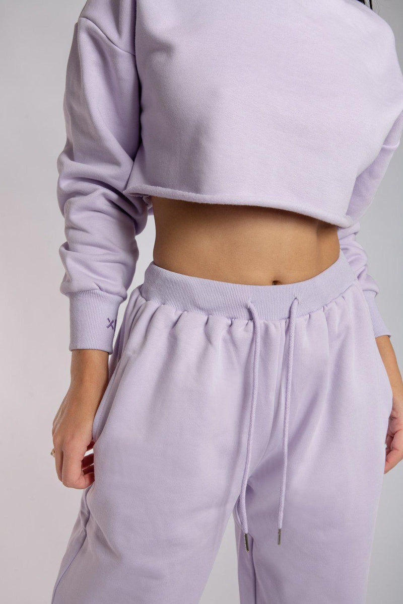 Creatures of XIX Oversized Jogger Bottoms - Lilac-Creatures of XIX-Pole Junkie