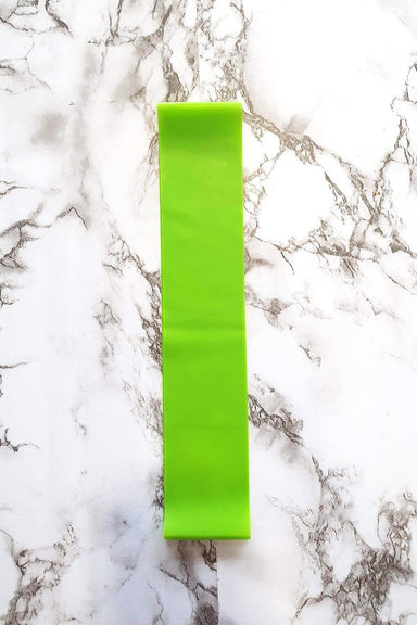 Lunalae Green Rubber Booty Band - Extra Light-Lunalae-Pole Junkie