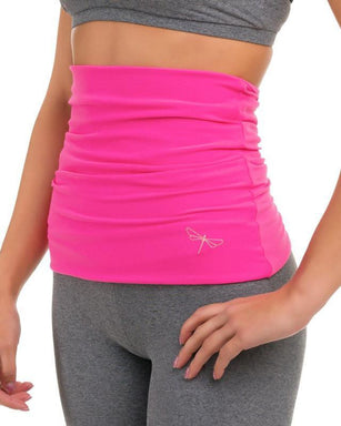 Dragonfly Back Warmer - Pink-Dragonfly-Pole Junkie
