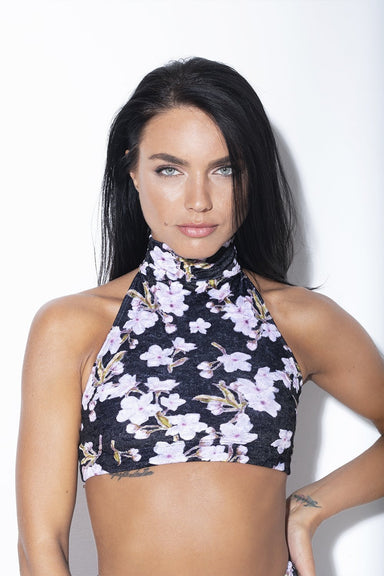 Velvet Floral Eve Top-RAD-Pole Junkie