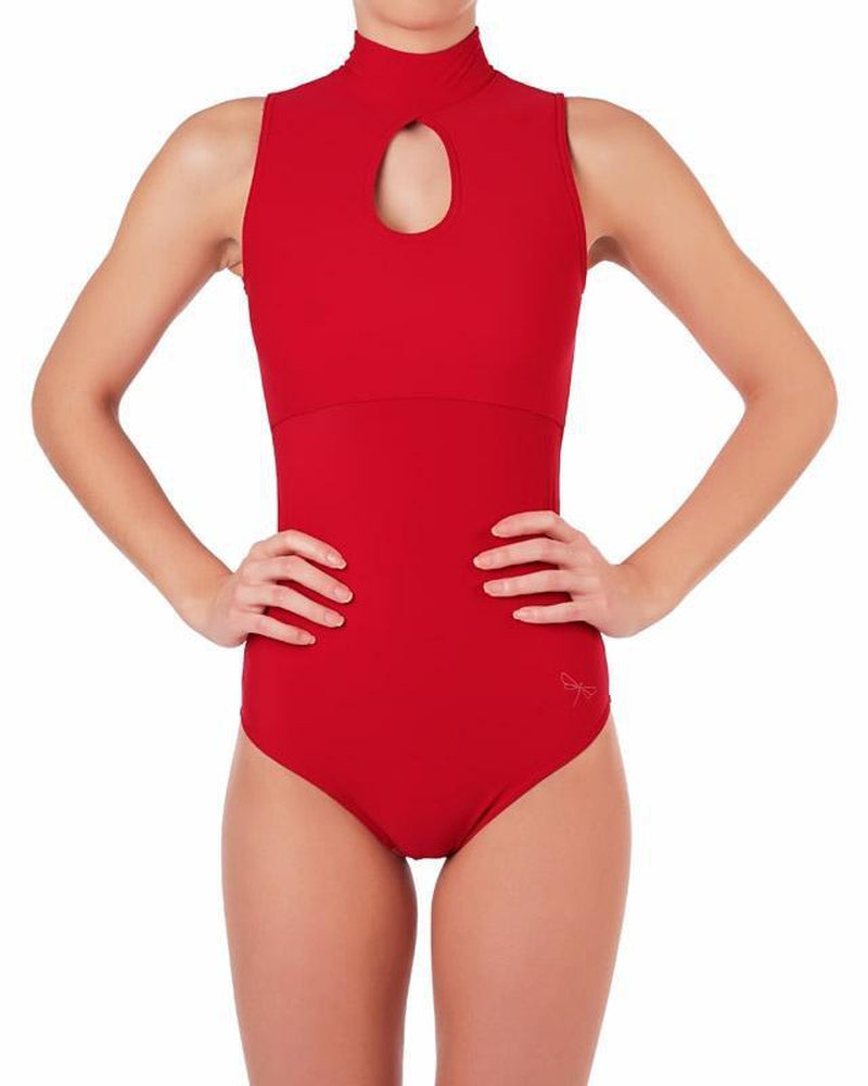 Daria Bodysuit - Red-Dragonfly-Pole Junkie
