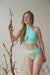 Shark Polewear Tahiti Shorts - Mint-Shark Polewear-Pole Junkie