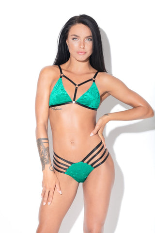 Glamazon Bottoms - Turquoise-RAD-Pole Junkie