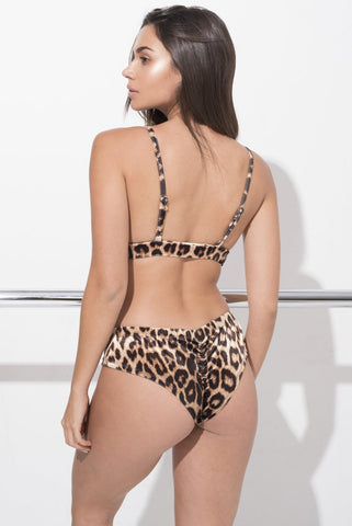 Monica Velvet Top - Leopard-RAD-Pole Junkie