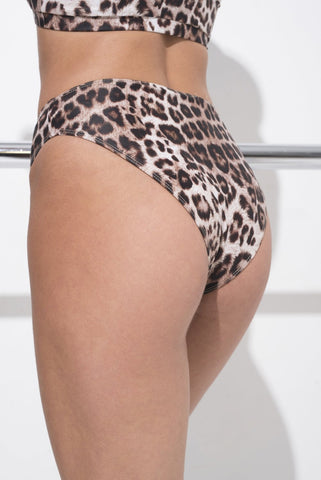 Athletic Shorts - Leopard-RAD-Pole Junkie