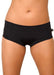 Cleo the Hurricane Essential Hot Pants - Black-Cleo the Hurricane-Pole Junkie