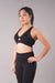 Off The Pole Keyhole Sports Bra - Black-Off The Pole-Pole Junkie