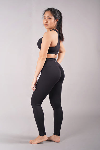Off The Pole Scrunch Butt Leggings - Black-Off The Pole-Pole Junkie