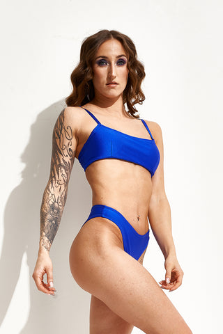 Boston Top - Royal Blue-Shark Polewear-Pole Junkie