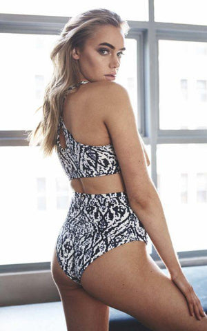 Ikat Print Avery Top-Luna Pole Wear-Pole Junkie