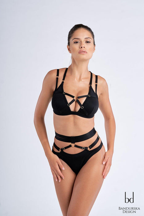 Chiara Top - Black-Bandurska-Pole Junkie