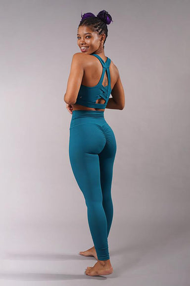 Off The Pole Scrunch Butt Leggings - Deep Sea-Off The Pole-Pole Junkie