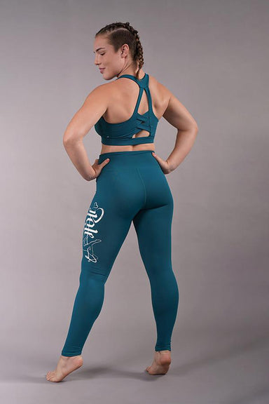Off The Pole Signature Leggings - Deep Sea-Off The Pole-Pole Junkie