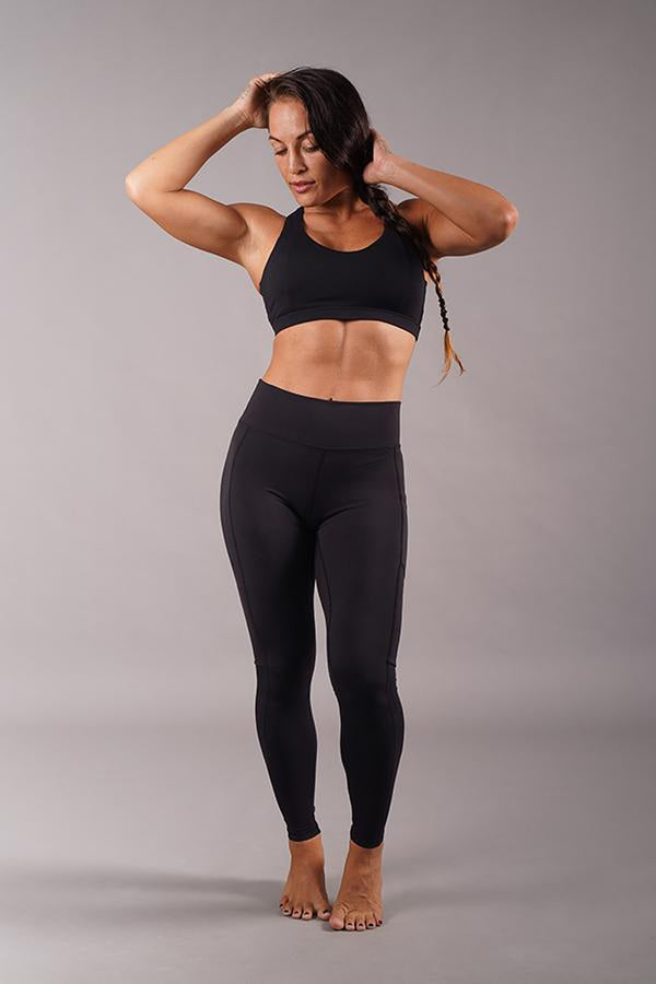 Off The Pole Iconic Leggings - Black-Off The Pole-Pole Junkie