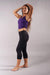 Off The Pole Cropped Lifestyle Leggings - Black-Off The Pole-Pole Junkie