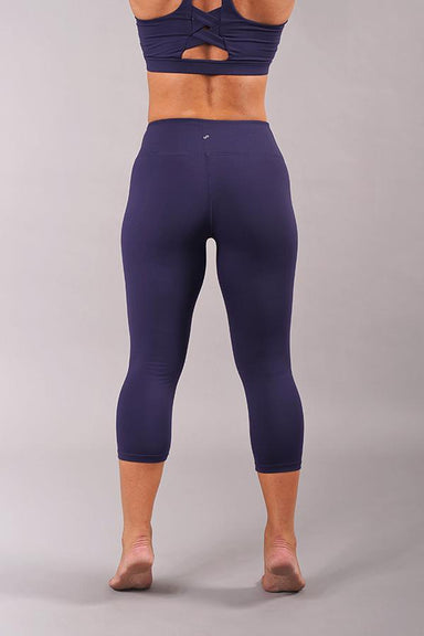 Off The Pole Cropped Lifestyle Leggings - Navy-Off The Pole-Pole Junkie
