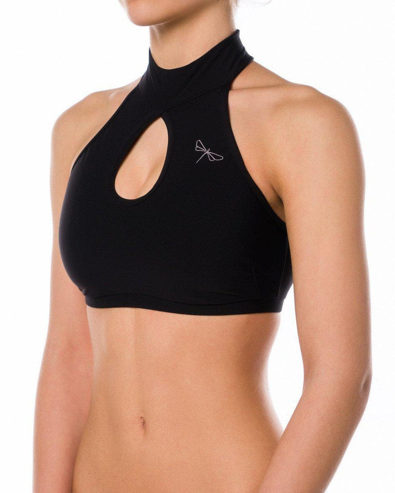 Dragonfly Terri Top - Black-Dragonfly-Pole Junkie