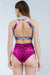 Pole Addict Openback Top - Crystallised-Pole Addict-Pole Junkie